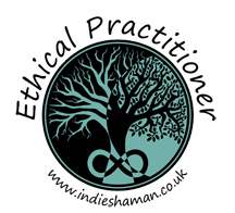 Ethical Practitioner practitioner badge from Indie Shaman www.cherylcolpman.co.uk