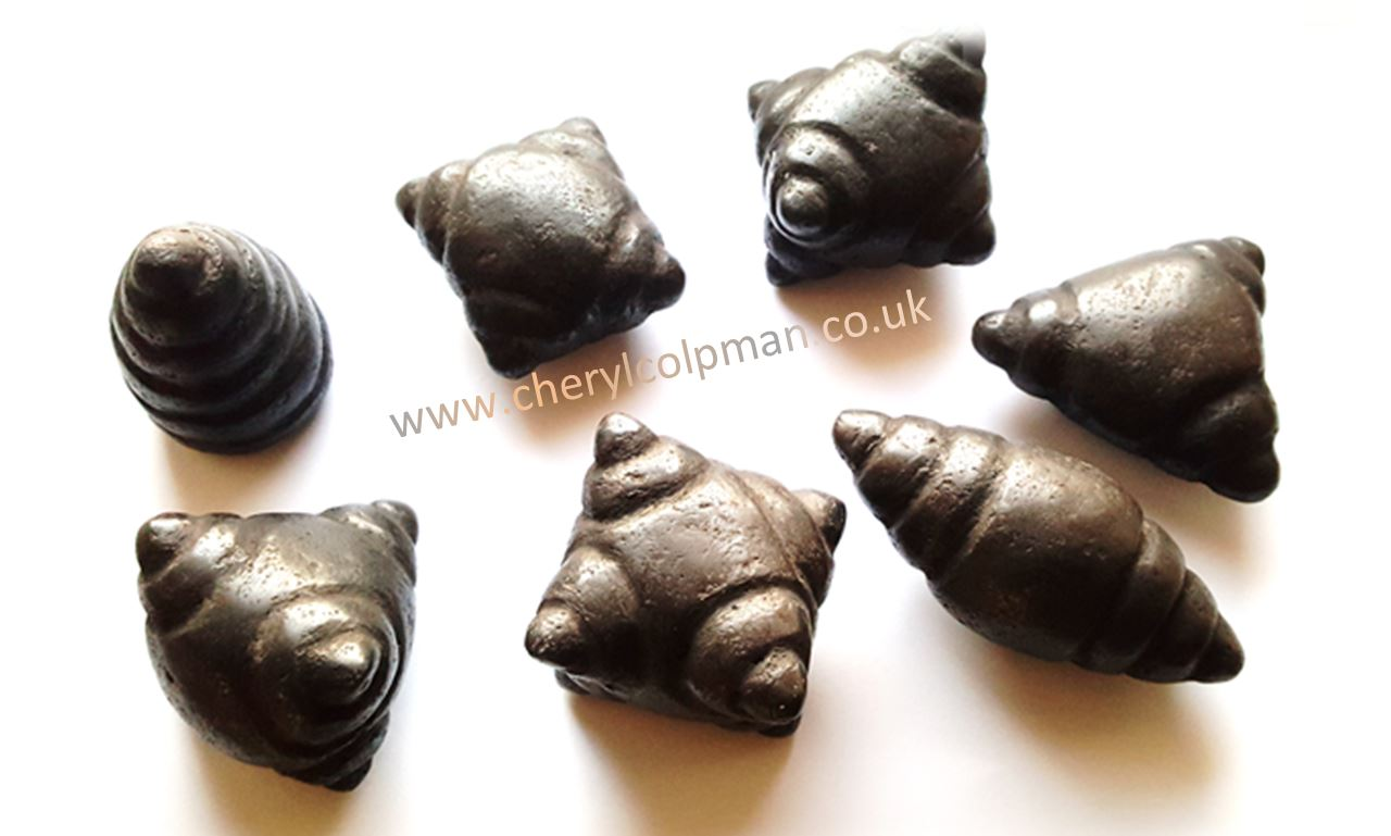 Chumpi stones sometimes used in Shamanic Acupressure www.cherylcolpman.co.uk