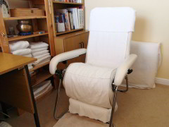 Cheryl's Complimentary Therapies Treatment Chair