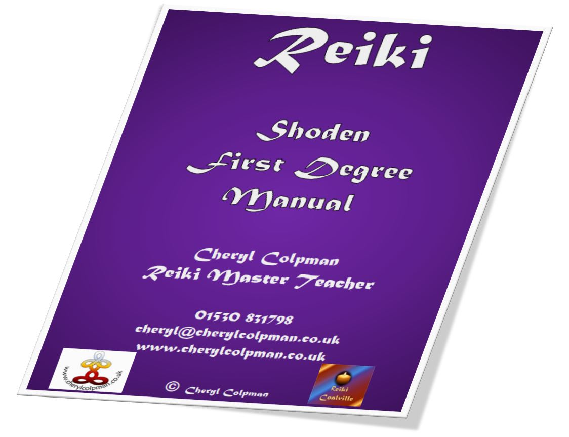 Reiki manual example Cheryl Colpman Reiki Master Teacher
