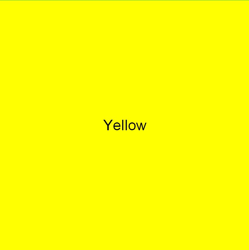 Colour square yellow colour healing Cheryl Colpman