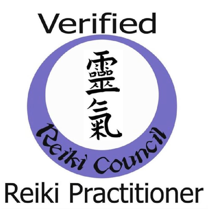 Verified Reiki Practitioner badge from Reiki Association Cheryl Colpman Reiki Master Teacher www.cherylcolpman.co.uk