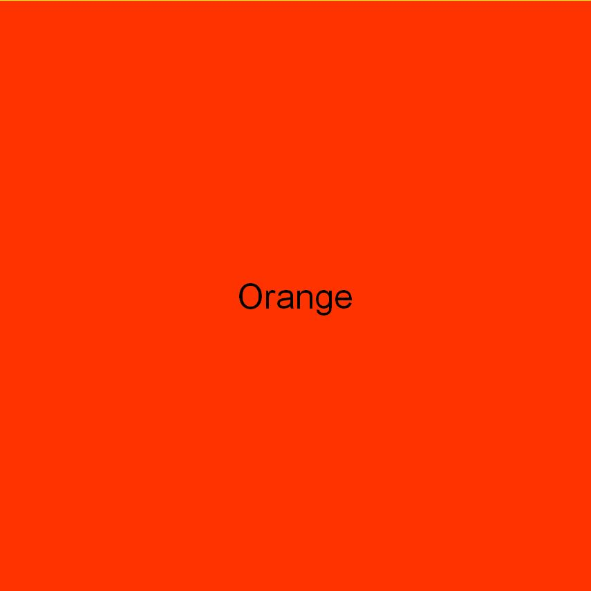 Colour square orange colour healing Cheryl Colpman